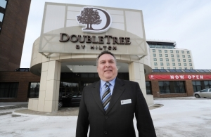 DoubleTree general manager Grant McCurdy